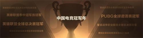 中国电竞冠军年